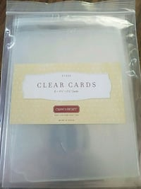 Close to my Hear Clear Cards 8pk Appleton, 54915