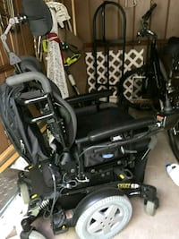 black and grey motorized wheel chair Lakewood