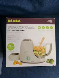 Brand new: Baby cook classic 4 in 1 baby food maker Mississauga, L5E 2A9