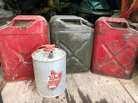 WWII gas containers.  $80 for all.  Please contact. Edmonton, T5C