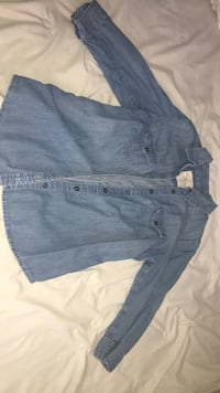 denim button up womens size s  Muskegon, 49442