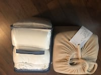 2 sets of queen size flannel sheets