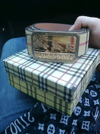 Burberry belt wirh box  Ottawa, K1J 6K9