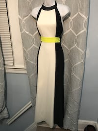 White black and neon alter top dress Raleigh, 27610