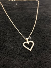 Tiffany chain with a heart Merrick, 11566