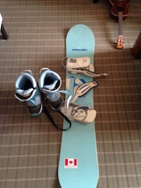 Light-blue and white snowboard Calgary, T2Z 0G2