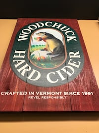 Wood Chuck hard cider Beer Sign Louisville, 40204