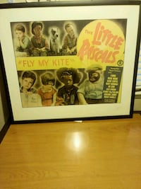 The Beatles poster with black wooden frame Sacramento, 95827