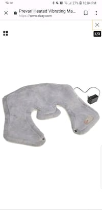 Heated Vibrating Massage Shoulder grey Owings Mills, 21117