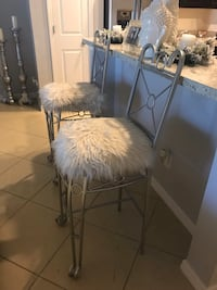 Beautiful Fur Bar Stools  Kissimmee, 34741
