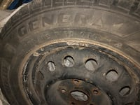 Set of 4 winter tires and rims ready for installation Toronto, M2R 2Z1