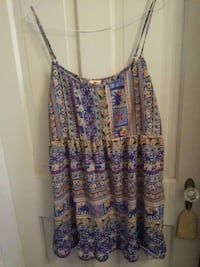 one clothing mini sundress