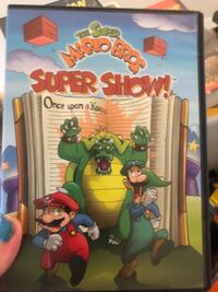 Mario Brothers Cartoon DVD ASHBURN