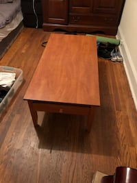 Wood coffee table  College Park, 20740