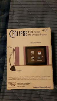 Eclipse MP3 video player. Brand new  Henderson, 89052