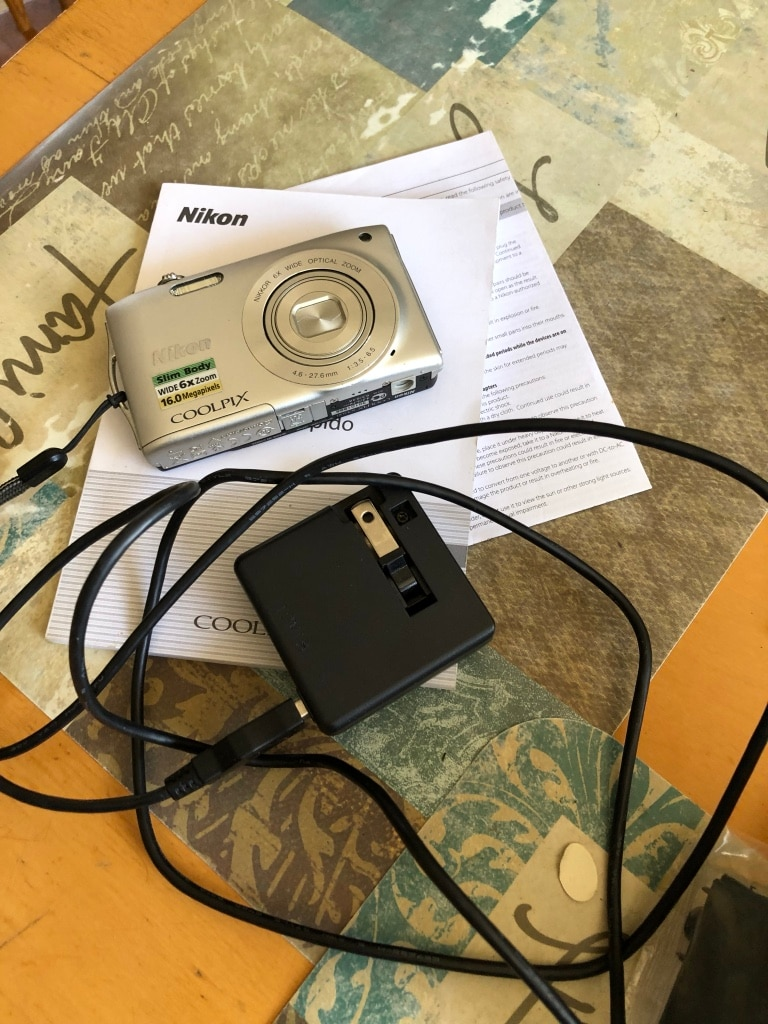 gray Nikon Coolpix point and shoot camera for sale  Gladstone