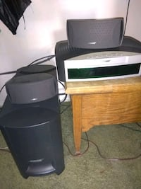two black and gray speakers Bakersfield, 93306