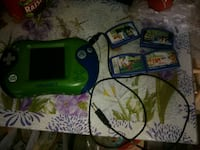 Leap frog leapster 2 with 4 games and usb cord Ocean County, 08050