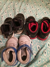 pair of assorted-color shoes lot Foley, 36535