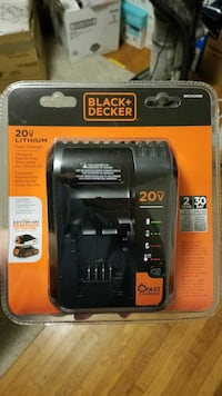 Black & Decker 20v Max Lithium Fast Charger