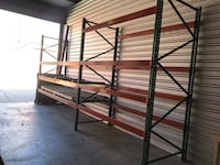 "Pallet rack. 48"" deep. 12'W and 8'W sections. Flowood, 39047"