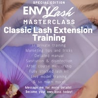 Become a Certified Lash Tech! Toronto