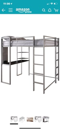 black metal bunk bed frame Chicopee, 01020