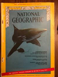 National Geographic 1968, 7 Issues, Feb, April, June, Aug, Sept, Oct, Nov, old but good condition  Brazoria, 77422