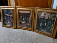 Paintings - set of 3 Muskego, 53150