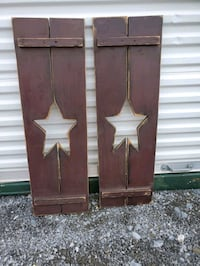 Country shutters  set Hagerstown, 21740