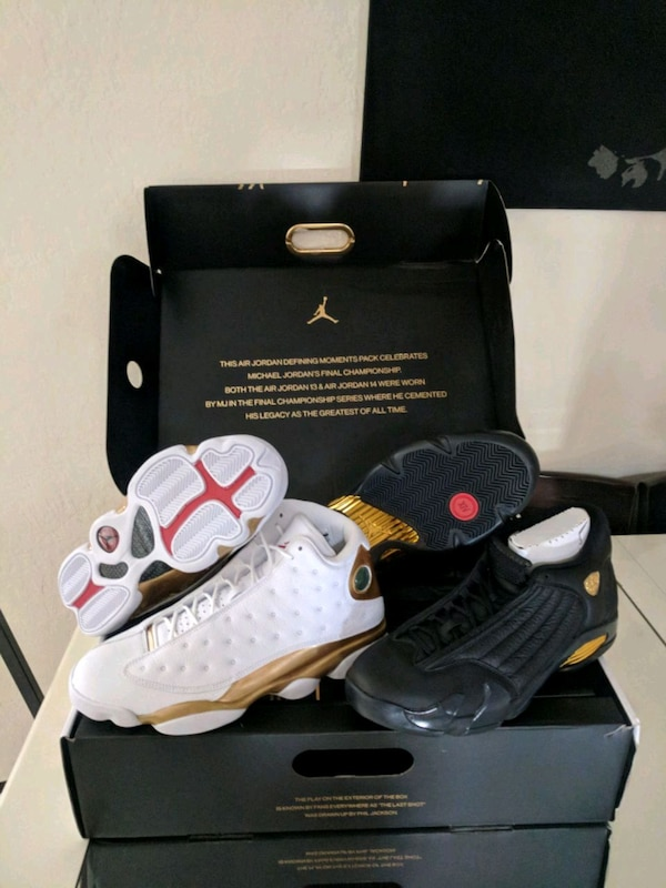 Used Jordan dmp ds sz 11.5 retro xiii and xiv 13 14 for sale in San Jose -  letgo 2fb08a3ae