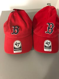 Lot of Red Sox hats and bags  Cranston