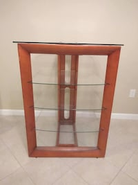 Wooden Tv Stand or Display Unit  Peabody