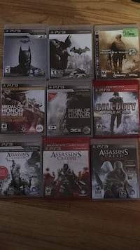ps3 game lot Windsor, N8W 2L2