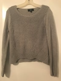 gray scoop-neck sweater Citrus Heights, 95610