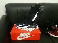 black-and-white Nike basketball shoes with box Montréal, H1Z 3B4