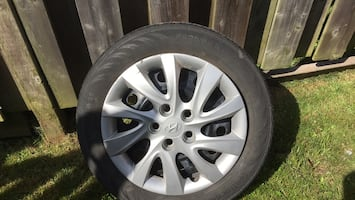 Summer tires for them on rims