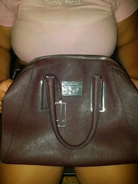 brown leather 2-way bag Dundas Valley, 2117