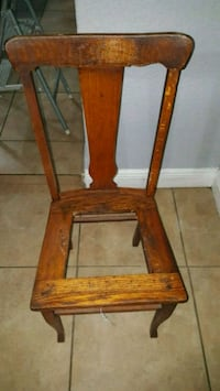 Solid oak wood chair Tampa, 33607