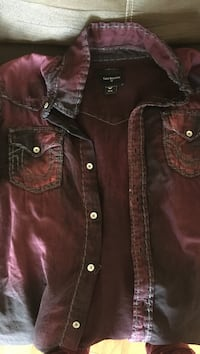 brown button-up jacket