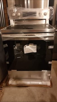 black and gray induction range oven Washington, 20024