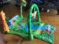 fisher-price jungle activity mat Toronto, M6K 2T8