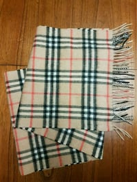 Authentic Burberry Scarf  Vancouver
