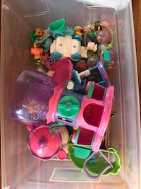 toddler's assorted plastic toys 120 mi