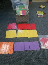 First thru 4th grade class room set fractions  2065 mi