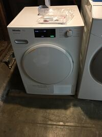 White front load dryer. Stackable San Francisco, 94118