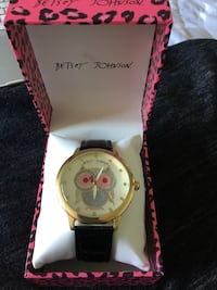 Betsey Johnson Faux Leather Owl watch  Manassas