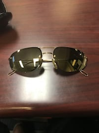 black framed Ray-Ban aviator sunglasses Lorton, 22079