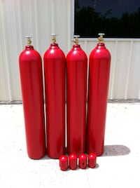 LARGE WELDING CYLINDERS 4 $ALE