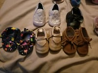 toddler's assorted shoes Mission